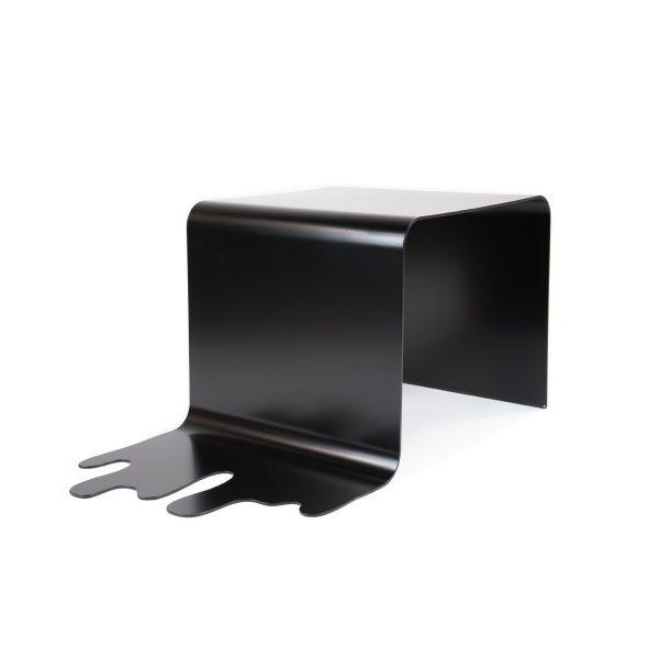 Bijzettafel staal zwart design - THE DROP - FABRIQ-S - Productfoto main image