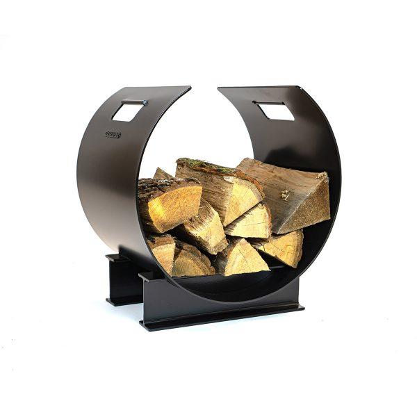 Houtopslag design zwart staal - THE BLOCKZ - FABRIQ-S - Productfoto main