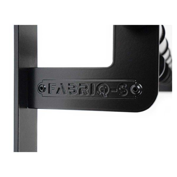 Kapstok zwart staal modulaire kapstok - THE HOOKS - FABRIQ-S - Productfoto detailfoto 1
