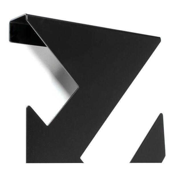 zwart stalen kapstok wanddecoratie - THE TWIG - FABRIQ-S - Productfoto detailfoto 1