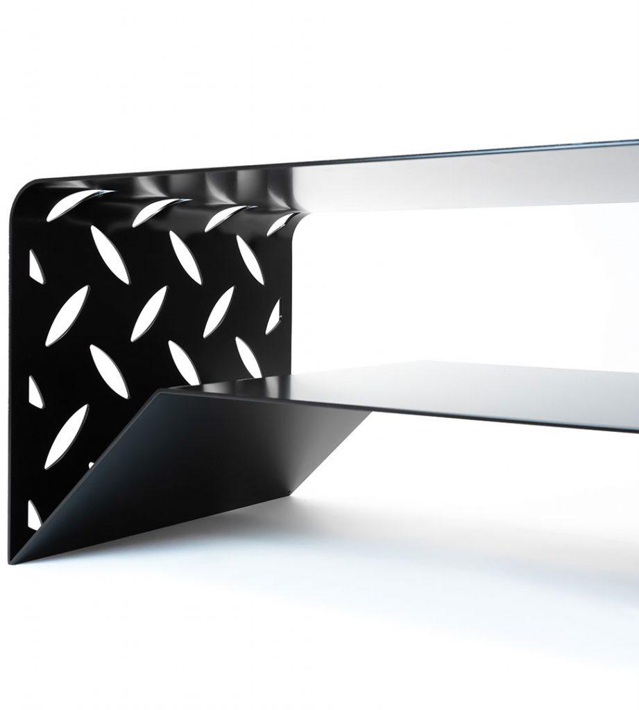 BIG-S salontafel zwart staal - Fabriq-S CONTACT
